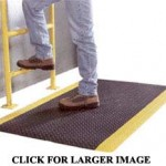 Rubber Safety anti-fatigue mats