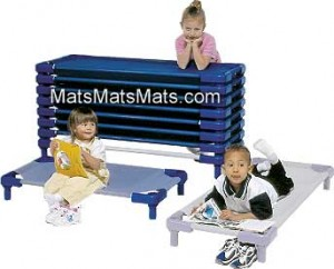 children's play mats and daycare cots