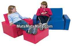 children's play mats and foam furniture for kids