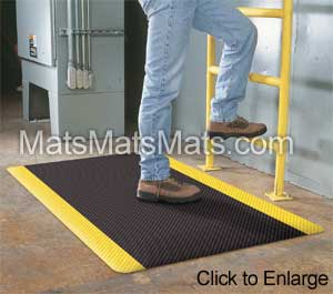 Anti-fatigue, non-slip mats