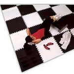 Soft Floor Interlocking Tiles Ideal For Home Gyms!