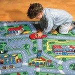 Play Rug For Cars!