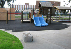 Bounce Back Playground Surface Tiles