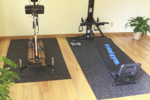 Treadmill Mat And Exercise Equipment