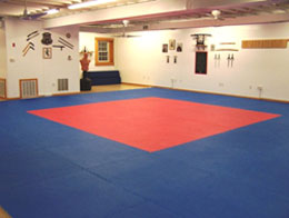 Interlocking Foam Mats create the ideal martial arts flooring