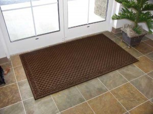 Welcome mats and entry doormats