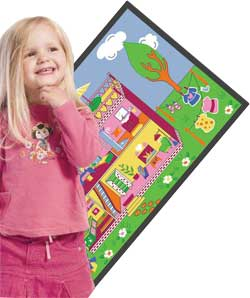 Kids Game Rugs - Play And Learn At The Same Time!