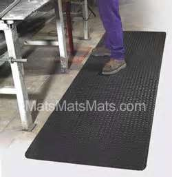 Non Slip Anti Fatigue Mats And Drainage Mats Complete This Kitchen!