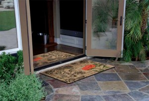 Door Mats Help Keep The Dirt Outside!