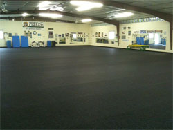 Rolled Rubber - Ideal Flooring For The Handy Man Inside You!