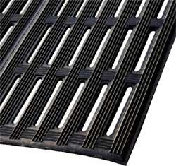 Drainage Mat For Areas Where Fork Lifts And Carts Are Used!